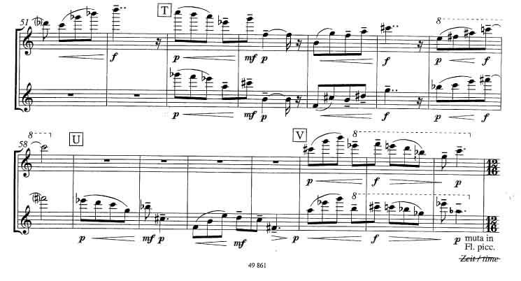 Hamburgisches Konzert - Flöte 1-2(1)3A